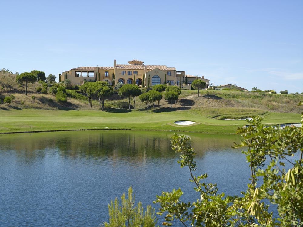monte rei golf country club in vila nova de cacela portugal 18 loch golfplatz. Black Bedroom Furniture Sets. Home Design Ideas